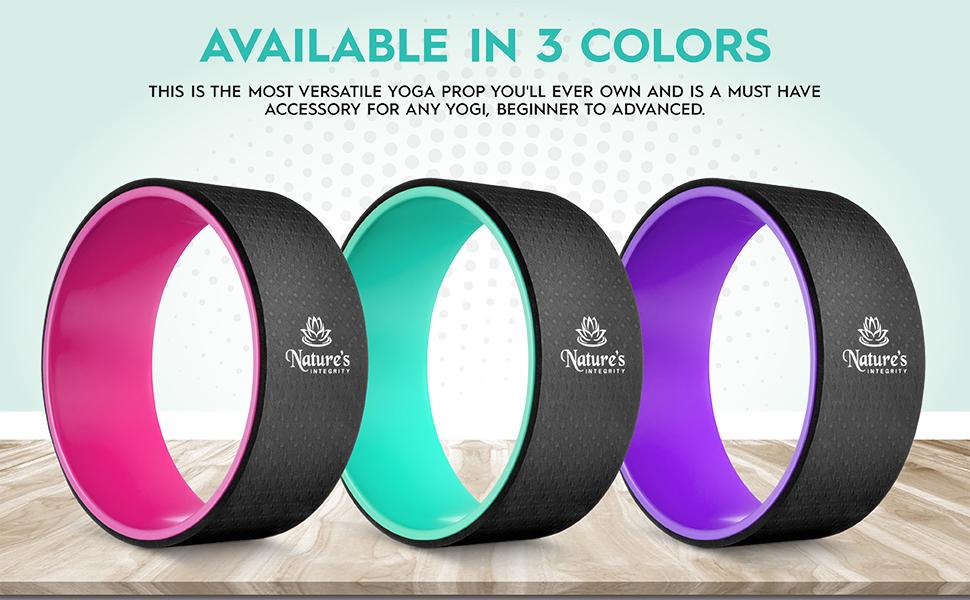 yoga wheel colors
